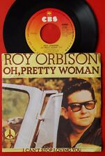 """ROY ORBISON OH PRETTY WOMAN/I CAN'T STOP LOVING 1977 YU 7""""PS bob dylan advertise"""