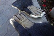 Vintage American Genuine Skunk Fur Gauntlets