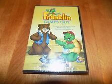 FRANKLIN CAMPS OUT Children's Classic TV Program Shows Bonus Show DVD SEALED NEW