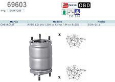 Pot catalytique Chevrolet Aveo 1.2i 16V 1206cc 62Kw/84cv B12D1 3/08>2/11, Magnaf