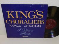 KING'S CHORALIERS MALE CHORUS I Believe In Miracles LP Zondervan ZLP-707 Vinyl