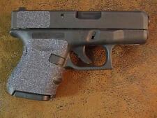 Sand Paper Pistol Grip Enhancements for Glock SubCompacts 26, 27, 28, 33, 39