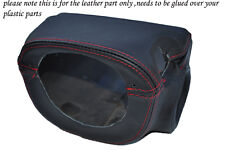 red stitch FITS LOTUS EXIGE/ELISE S1 MK1 95-02 CENTRE STEERING WHEEL SHROUD