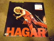 Sammy Hagar Signed Record Live 1980 In Person Rare!