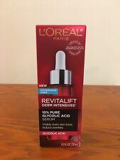 L'Oreal Paris Revitalift Derm Intensives 10% Pure Glycolic Acid Serum 1 oz.