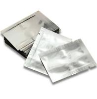 Sachet Scellé Sous Vide 100pcs Argent Petit Pochon Sous Vide d'Aluminium Protect