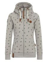 Naketano  Beautiful Hoodie In Grey Size XS. BNWT. Superb quality product.