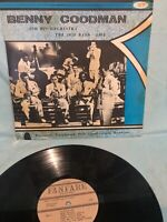 BENNY GOODMAN and HIS ORCHESTRA - THE 1938 BAND LIVE - VINTAGE VINYL LP