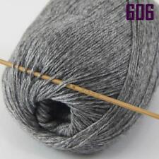 Sale New 1 Ball x 50gr Luxurious Soft Mongolian Pure Cashmere Hand Knit Wool 06