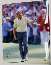 Jack Nicklaus Signed Autographed 16X20 Photo 1986 Masters Steiner
