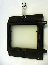 4X5 Graphic Spring Back w/ Glass & Rear Sight | For Crown & Speed Cameras | $75