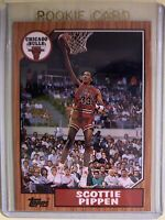 Topps Archives Scottie Pippen rookie card #97 * Chicago Bulls *