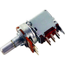 Alpha Push/Pull Solid Shaft Potentiometer, 1M Audio PC Mount