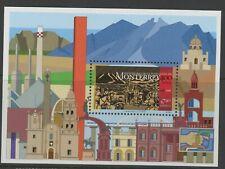 MEXICO, MINT, #1992, OG NH, SOUVENIR SHEET, MONTERREY 400 YEARS, CLEAN