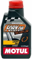 MOTUL FORK OIL OLIO FORCELLE LIGHT 5W FACTORY LINE 100% SINTETICO MOTO TRIUMPH