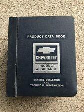 1978  Chevrolet  original Zone office product data file.