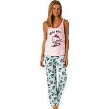 """Hello Kitty"" 100% Cotton 3 - Piece Pajamas Gift Set - Size Large"