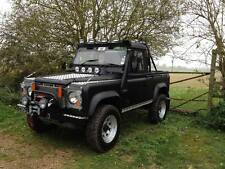 Land rover  90 110 Bushcables /The Galvanized steel set  By Bushcables.com
