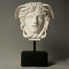 Medusa Bust Head Sculpture - ancient Greek mythical Museum Replica Reproduction