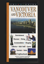 VANCOUVER and VICTORIA : A Colourguide by Formac Publishing, Canada (Paperback)