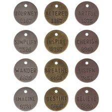 Tim Holtz Idea-Ology philosophie Tags Th92678-ideaology Metal 1
