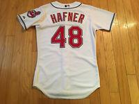 Cleveland Indians Travis Hafner Majestic Authentic Baseball Jersey Men Size 40