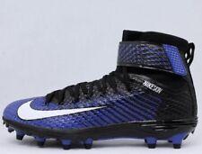 $110 Nike Force Lunarbeast Elite TD Football Cleats Shoes Royal Blue Black US 11