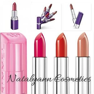 Rimmel Moisture Renew/ Sheer And Shine Lipstick- Choose Your Shade- NEW + FREEPP