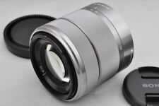 Silver SEL1855 E 18-55mm F/3.5-5.6 OSS Zoom Lens for Sony mirrorless Cameras