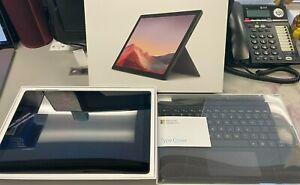 "Microsoft 12.3"" Surface Pro 7 i5 256GB SSD 8GB RAM with Keyboard - Black"