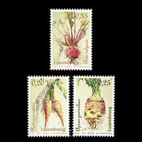 Luxembourg 2015 - Vegetables of Yesteryear Flora Foot - Sc 1390/2 MNH
