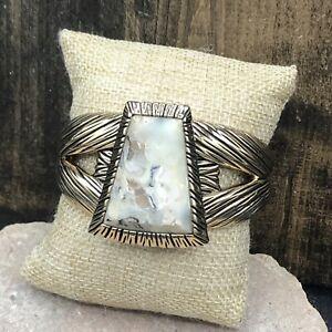 Barse Meridian Cuff Bracelet- African Opal & Bronze- NWT