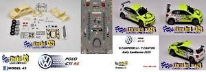 VOLKSWAGEN  POLO GTI R5 CAMPEDELLI RALLY SAN MARINO 2020  -   KIT MONTAGGIO -