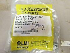 LMI Pump Parts 36157 Machined Head 0.9