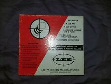Lee Precision Bullet Casting And Lubricating Kit New