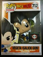 Funko Pop! Dragon Ball Z Vegeta Galick Gun Chalice Exclusive in Hand MINT
