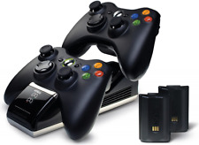 Nyko Charge Base Wireless Controller Charger Dock Dual Port For Xbox 360 New LED