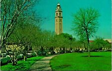 Baton Rouge LA LSU Campus Scene Clock Tower Postcard unused (13067)
