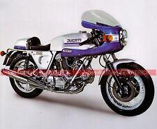 DUCATI 750 - 900 SS Super Sport 1973 Fiche Moto 000060