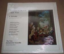 Ravier A.SCARLATTI 6 Sinfonias - Three Centuries of Musick 3C 313 SEALED