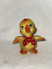 Ceramic Vintage Yellow Duck Ducky Cute 3.5� preowned