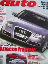 AUTO n°4 2004 Alfa Visconti - Toyota Volta - Audi A6 vs BMW e Mercedes [Q199A]