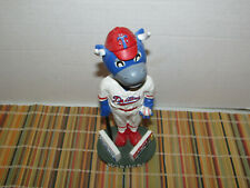 New listing Tulsa Drillers Mascot Hornsby #1 Signed Baseball Bobblehead Los Angeles Dodgers