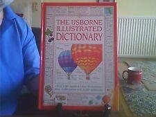 The Usborne Illustrated Dictionary Hardback English Usborne 1994