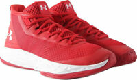 Under Armour 3020623 600 Men Red White Jet Mid Basketball Shoes Sneakers 13