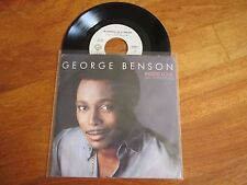 "GEORGE BENSON Inside Love / In Search Of A Dream 7"" 45 RPM ITALY NO CD LP"