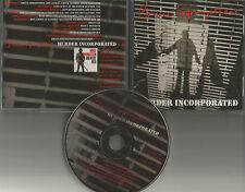 BRUCE SPRINGSTEEN Murder Incorporated PROMO DJ CD Single w/ PRINTED LYRICS 1995