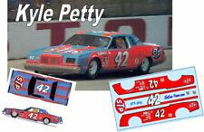 CD_3623-C #42 Kyle Petty  1978 STP Valvoline Dodge Magnum   1:64 scale DECALS