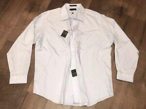 Marshall Fields - Button Up Dress Shirt - 18.5 - 36/37 - Blue - Non Iron - $60