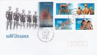 AFD266) Australia 2007 Year Of The Surf Lifesaver FDC